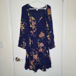Old Navy floral boho style dress